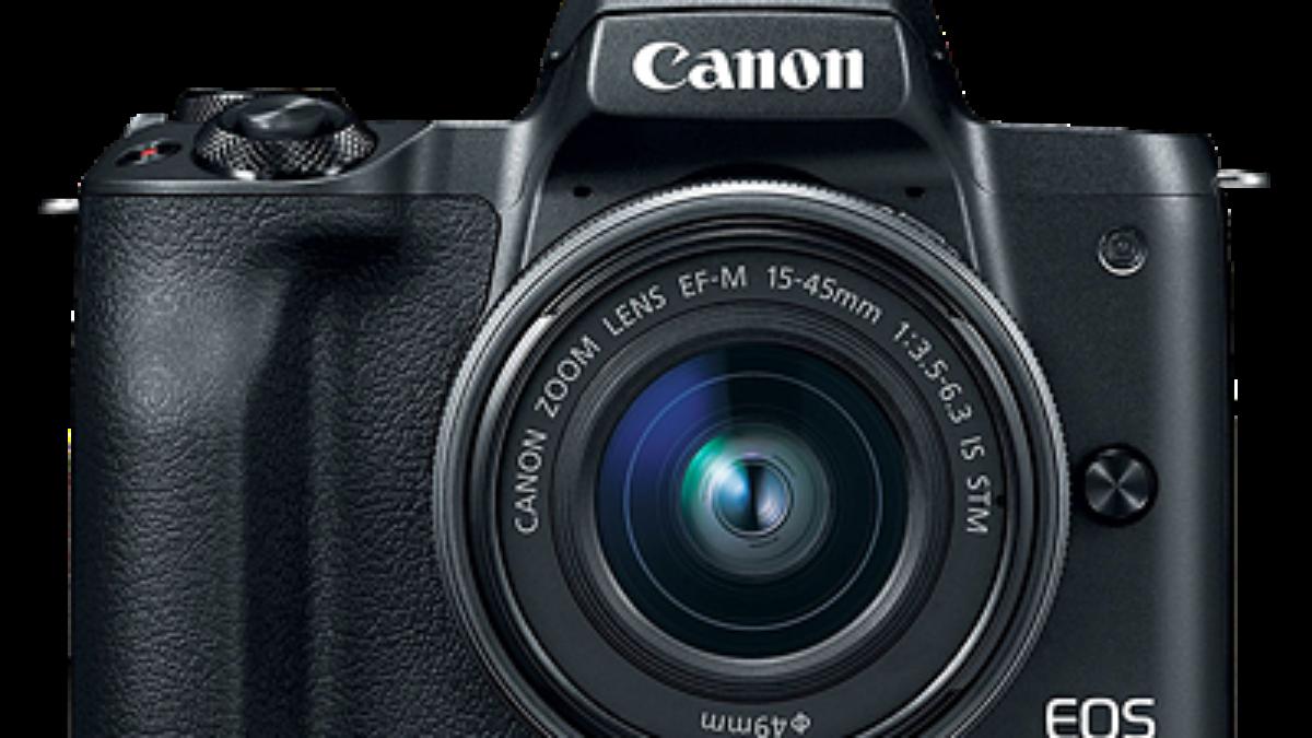 Cámara Canon M50 Sin espejo